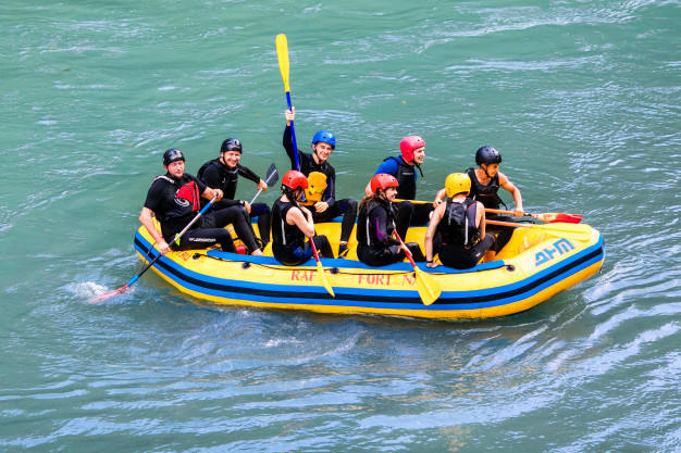 Bovec white water canyoning